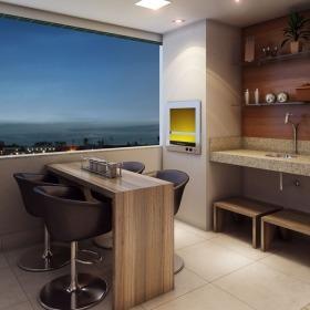 Varanda Gourmet Apartamento Tipo