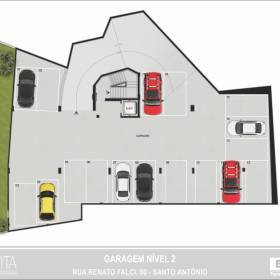 Planta - Garagem - Nível 02