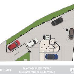 Planta - Garagem - Térreo