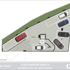 Planta - Garagem - Subsolo